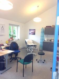 Kons blå kontor